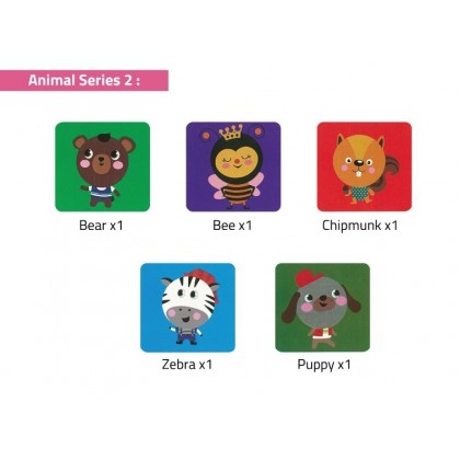 Paper Plate Craft (5 characters in 1 series)