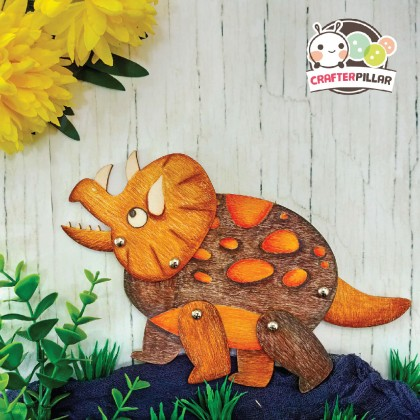 Dinosaur / Unicorn Puppet Wooden Craft
