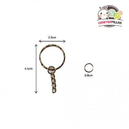 Keychain Ring Raw Material (10 in 1) Enjoy Special Price for Bundle Purchase