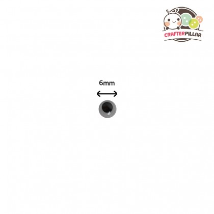 Wiggly Eye Sticker Raw Material (100 pcs in 1)