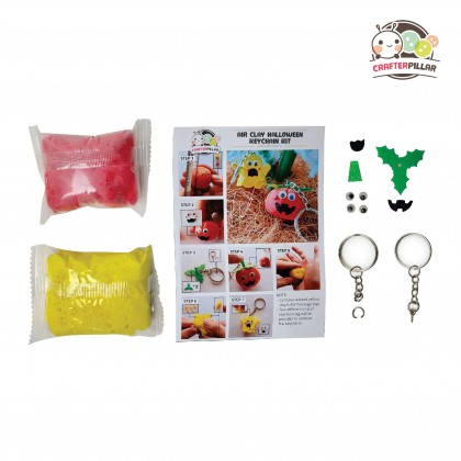 DIY Halloween Keychain Air Clay Kit (Enjoy Special Price for Bundle Purchase)