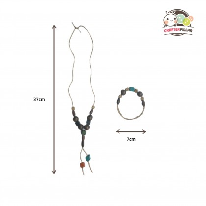 DIY Bead Jewellery Wooden Craft (Enjoy Special Price for Bundle Purchase)