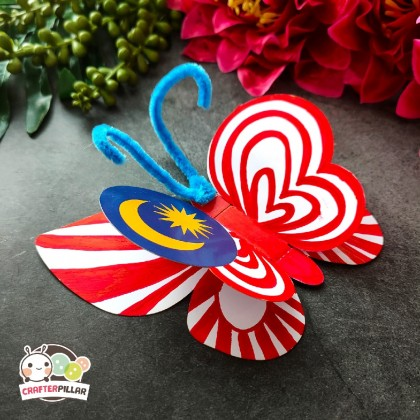 DIY Merdeka Butterfly Festival Craft (Enjoy Special Price for Bundle Purchase)