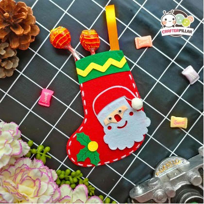 Santa Sock Christmas Craft (Enjoy Special Price for Bundle Purchase)