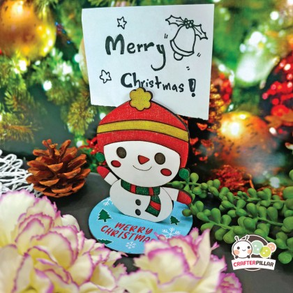 Snowman Memo Clip Christmas Craft (Enjoy Special Price for Bundle Purchase)