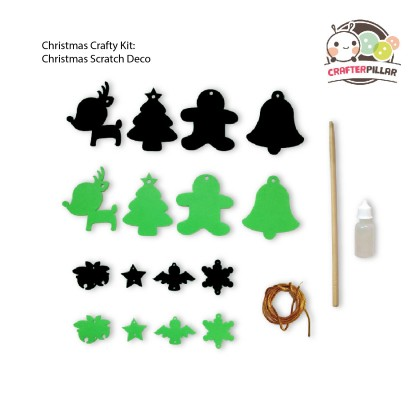 Christmas Crafty Kit (Enjoy Special Price for Bundle Purchase)