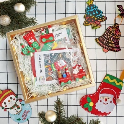 <PRE-ORDER> Christmas Crafty Fun in Box (Enjoy Special Price for Bundle Purchase)