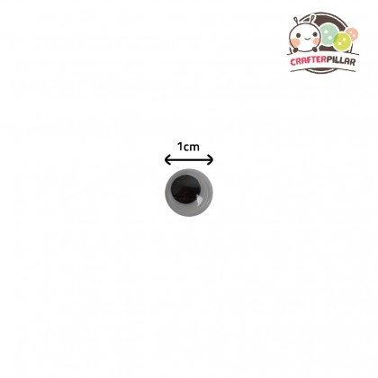 10mm Wiggly Eye Sticker Raw Material (100 pcs in 1)