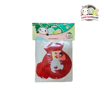Felt Fortune Bag Chinese New Year Craft (Enjoy Special Price for Bundle Purchase)
