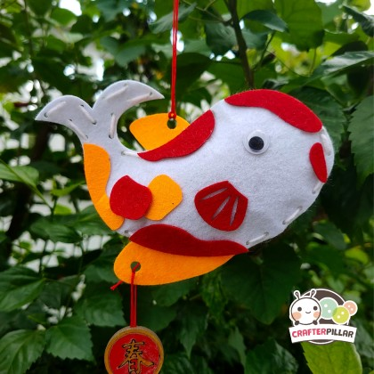 Felt Koi Hanger Chinese New Year Craft (Enjoy Special Price for Bundle Purchase)