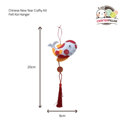 Chinese New Year Crafty Kit (Enjoy Special Price for Bundle Purchase)