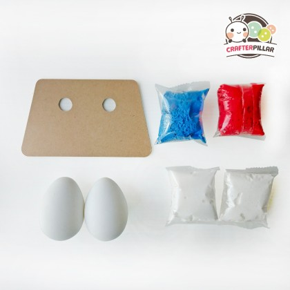 Clay Easter Rabbit Egg Festival Craft (Enjoy Special Price for Bundle Purchase)
