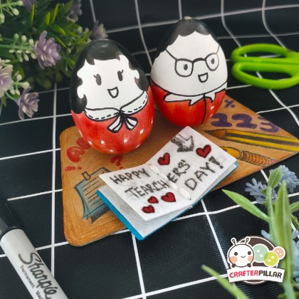 Egg Deco Puppet Festival Craft (Enjoy Special Price for Bundle Purchase)